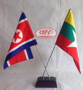 cờ để bàn đế a8ngten đôi