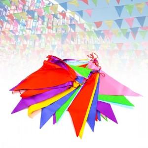 cờ dây nhiều màu