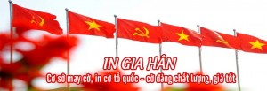 may cờ tổ quốc